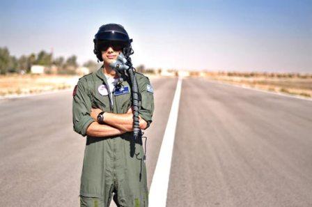 הבריא מטורט ועכשיו הוא טייס קרבי