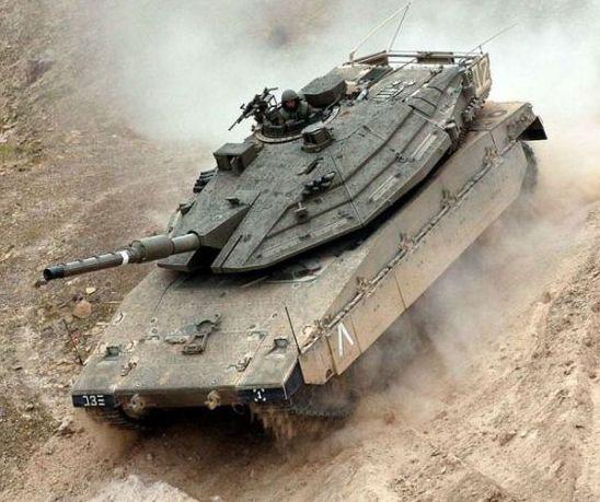 טנק מרכבה.