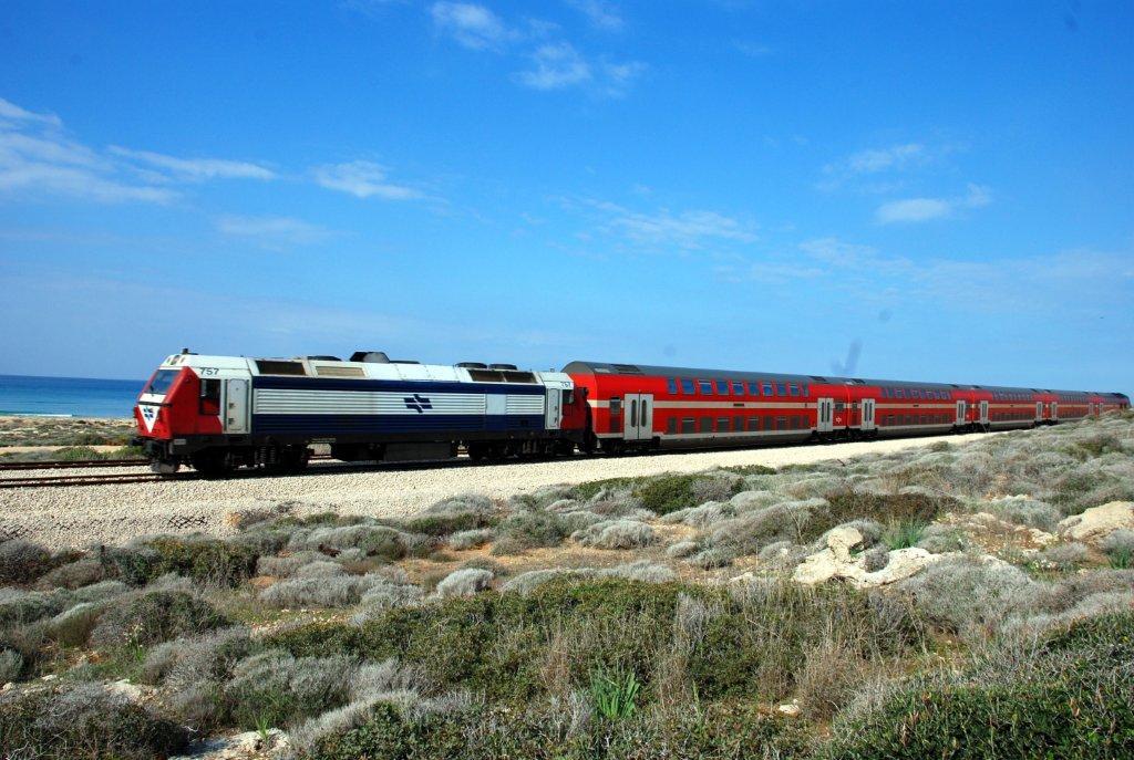 רכבת ישראל. שדרוג מסילות והפעלת קטרים חדשים ומהירים. צילום: רכבת ישראל