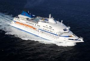 אוניה של קובה קרוז. שבעה ימ הפלגה, עם ארוחות הכל כלול בפנסיון מלא. (צילום: אתר קובה קרוז)