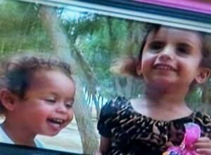 שתי הילדות שנרצחו (צילום מסך)