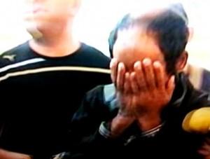 החשוד ברצח, עלי אמטיראת. מכחיש (צילום מסך)