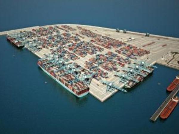 הדמיה של הנמל בצפון