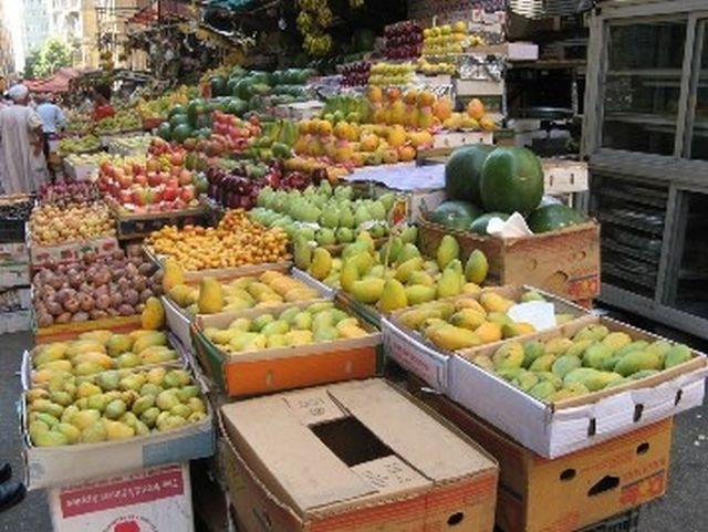 שוק במצרים. המחירים התייקרו ב-50%
