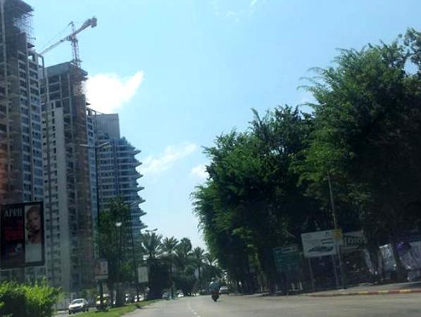 באחד המגדלים אותרו כמה תושבי חוץ המחזיקים בדירות יוקרה, שאינם מדווחים על הכנסותיהם מדמי שכירות (התמונה להמחשה בלבד)