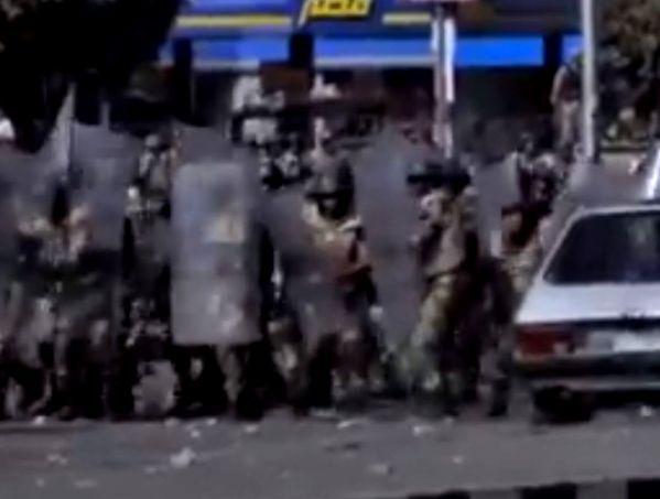 כוחות הביטחון המצריים נפרשים בקהיר