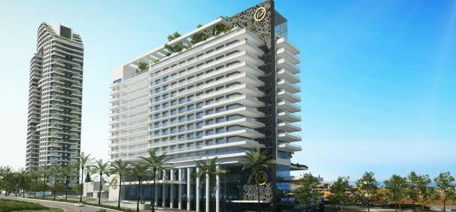תמונת הדמיה של מלון WEST LAGOON בנתניה. המלון הגדול בעיר