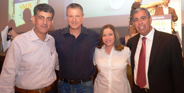 מיקי לוי, שלי יחימוביץ', אראל מרגלית, אהוד רצאבי (צילום: ליאת מנדל)