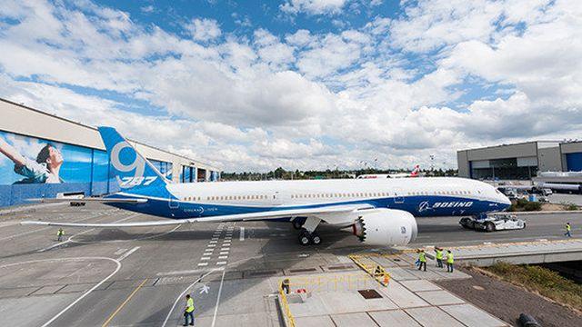 בואינג 787-9. 50% מהדרישה במזרח התיכון ב-20 השנים הבאות יהיה למטוסים רחבי גוף. צילום: בואינג