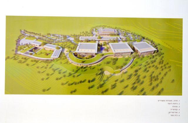 הדמיה של קמפוס לחינוך והכשרה במקצועות התעשייה בלבון- משרד פלסנר אדריכלים