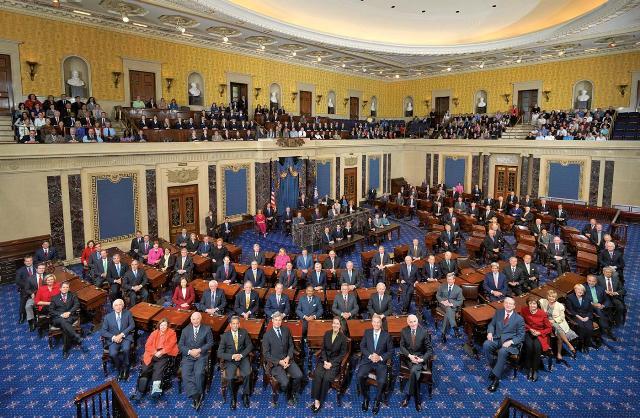 הסנאט האמריקני, הרוב דמוקרטים (ויקימדיה)