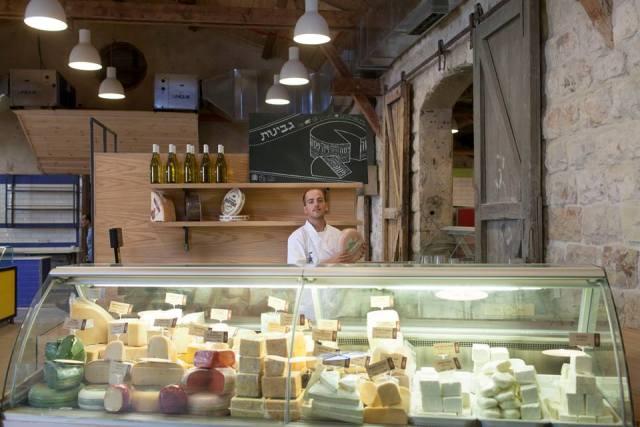 דוכן גבינות בבזאר הקולינארי (באדיבות הבזאר הקולינארי)