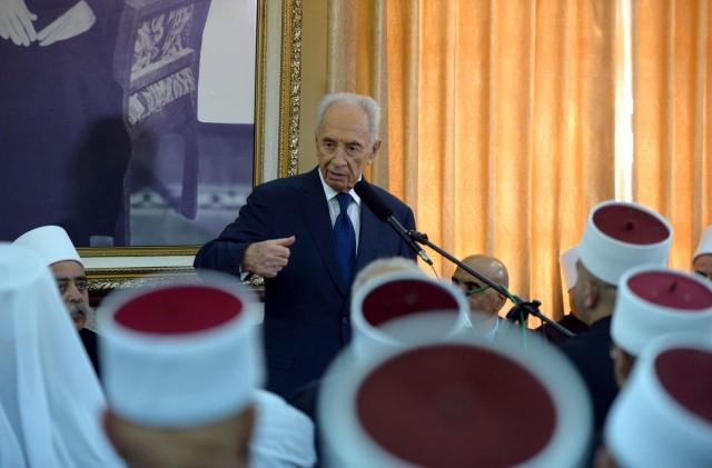"""רציניים או דברנים? נשיא המדינה, שמעון פרס (צילום: מארק ניימן/לע""""מ)"""
