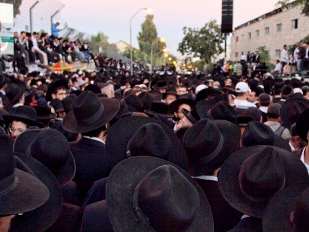 ירושלים לא ידעה לוויה כזו