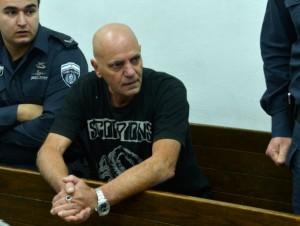 אביו של אייל גולן מובא להארכת מעצר (צילום: יוסי זליגר)