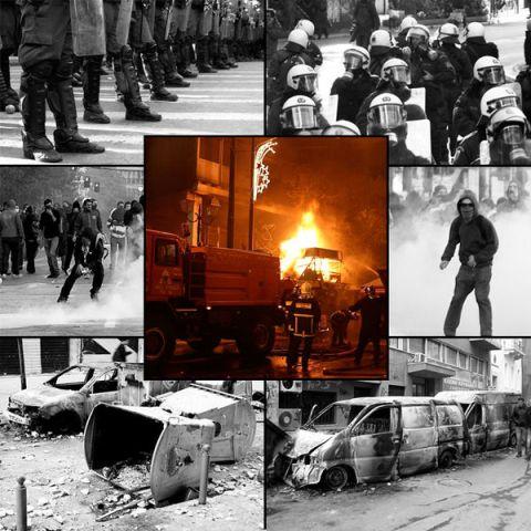 המהומות הגדולות ביוון בשנת 2008 (ויקימדיה)
