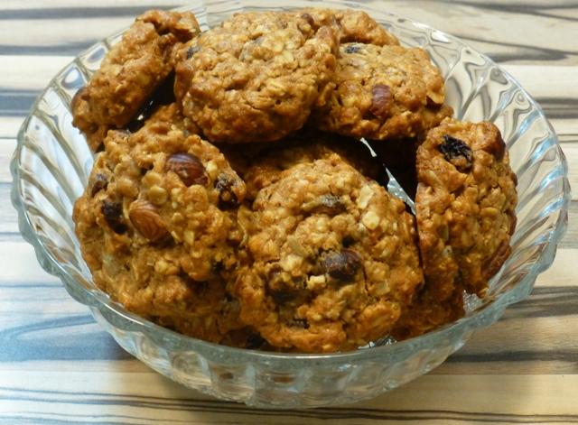 עוגיות גרנולה - שיבולת שועל (צילום: אפי בלה)