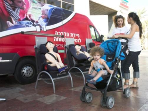 הולכי רגל וילדים לא מוגנים בדרכים