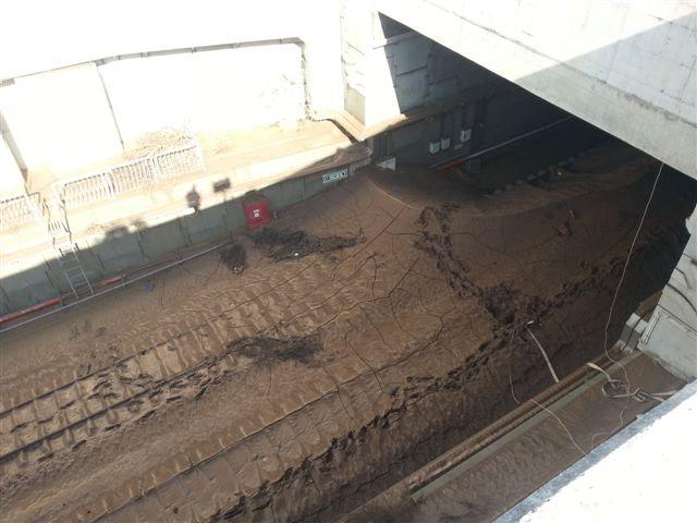 התקלות ברכבת ימשכו מספר שבועות עקב תיקון מפגעי הסופה