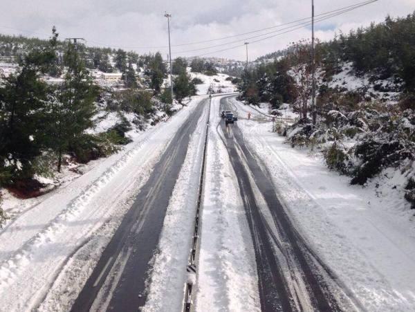 כביש מספר 1 (צילום: אדר יהלום, משטרת ישראל)