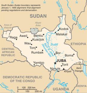 מלחמה שבטית בדרום סודאן