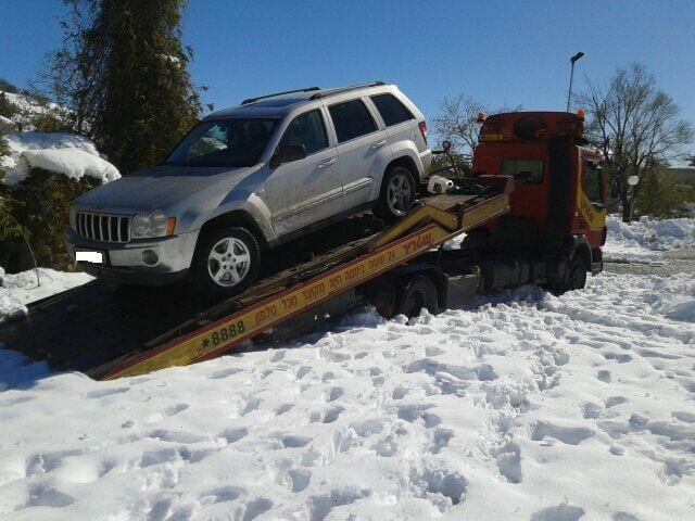 קבוצת שגריר: סיכום מפגעי הרכב בימי הסערה