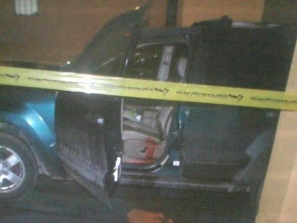 הרכב בו התבצע החיסול (צילום: אל מנאר)