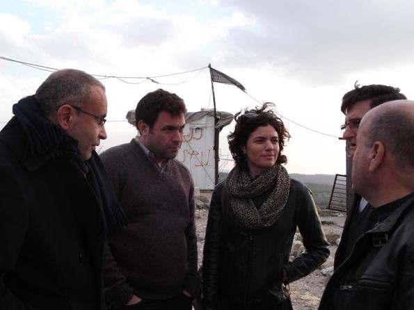 זנדברג: מבטיחה לקדם את מאבקם של עקורי אקרית