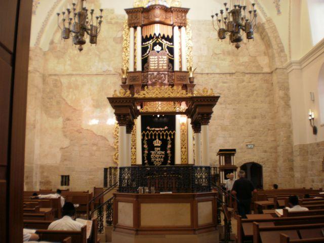 בית הכנסת החורבה ברובע היהודי בירושלים. אתרים אחרים נסגרים בעת אירועים פרטיים. (צילום: עירית רוזנבלום)