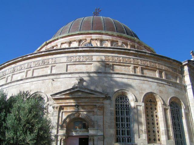 הכנסיה האתיופית בירושלים. הבירה היתה העיר המבוקרת ביותר על ידי תיירים. (צילום: עירית רוזנבלום)