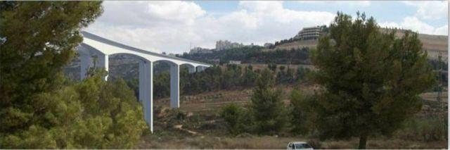 הדמיה: כך אמור להראות הגשר הגבוה במדינה