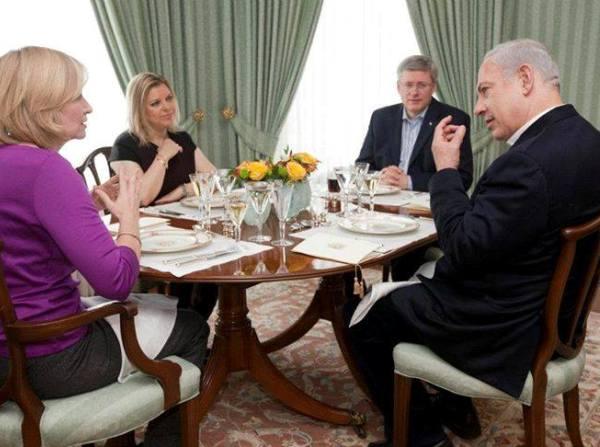 ראש ממשלת קנדה, סטיבן הארפר - לביקור רשמי בישראל