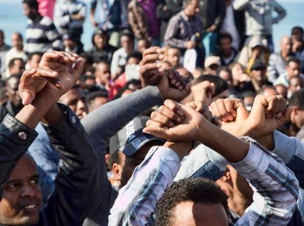 """נתניהו: """"לא יעזרו שום הפגנות ולא יעזרו שביתות"""""""