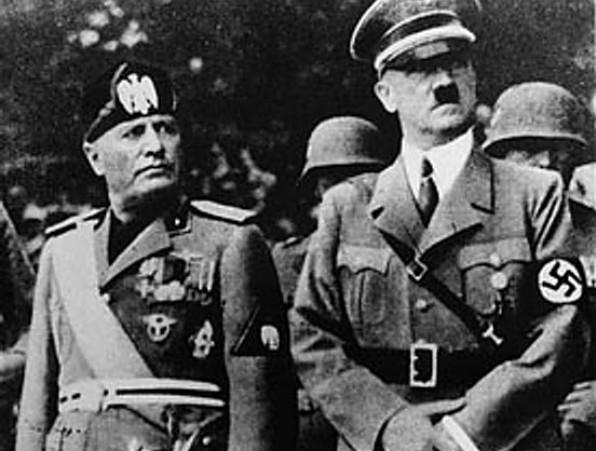 היטלר ומוסוליני, 1937 (מקור: ויקימדיה)