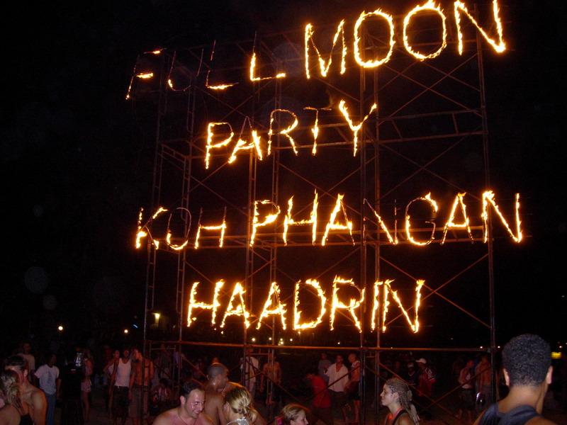 מסיבת פול מון בקופנגן, תאילנד. הישראלים מחפשים לשכוח. (צילום: Andrew Poynton, ויקיפדיה)
