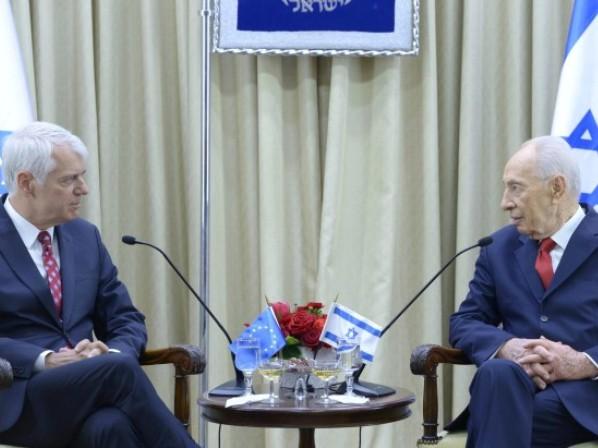 """שגריר האיחוד האירופי לפרס: """"2014 קריטית למזרח-התיכון"""""""