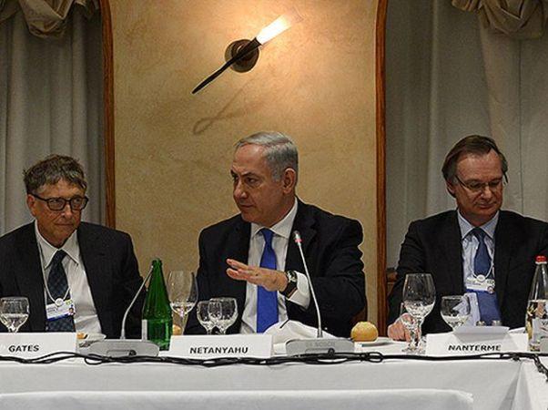 """נתניהו בכינוס ראשי הכלכלה העולמית (צילום: קובי גדעון, לע""""מ)"""