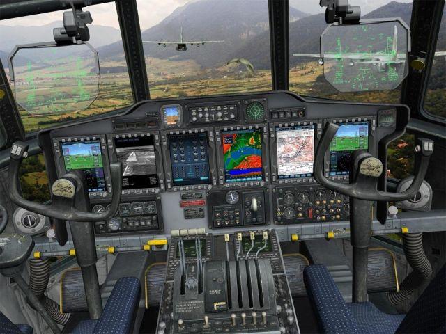 מערכות תא טייס הדיגיטליות החדשות, מערכות התצוגה העילית והמכ