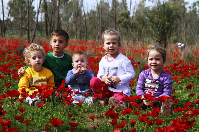 דרום אדום בסימן ילדים