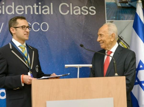 סגן נשיא גינס העולמי מרקו פריג