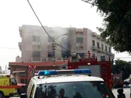 פיצוץ בדירה בתל אביב: שלושה בני אדם נפצעו