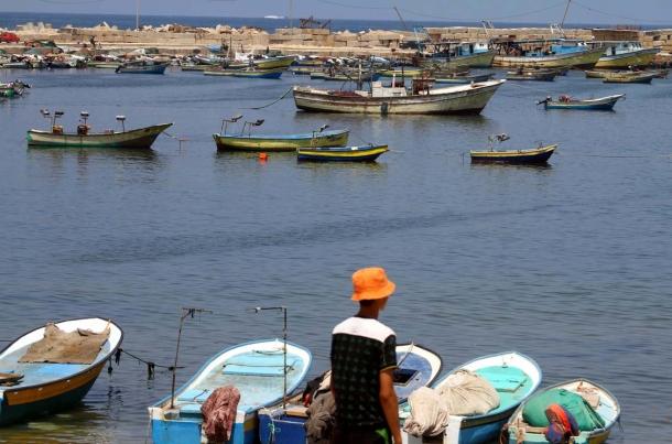 ספינות דיג בעזה