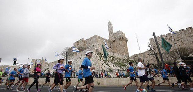 מרתון ירושלים צפוי להכניס 10.5 מליוני שקלים למלונות ולעסקים