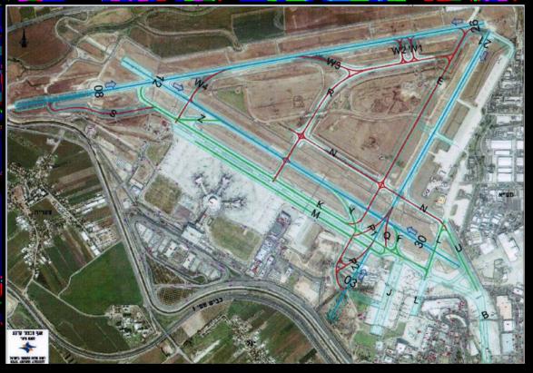 """מערך המסלולים החדש לאחר השדרוג בנתב""""ג"""