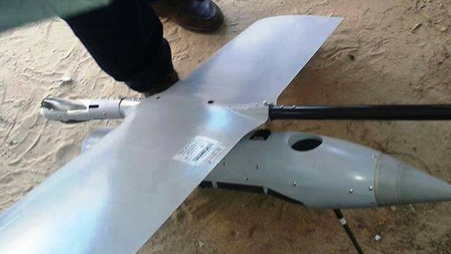 """מטוס זעיר של צה""""ל התרסק ברצועת עזה"""