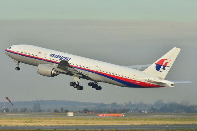המטוס המלזי שנעלם, כפי שצולם בשנת 2011 (ויקימדיה)