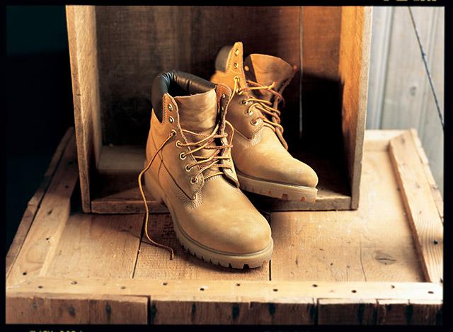 המגפיים הצהובים של טימברלנד. צילום: Timberland