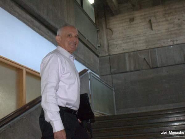 נאשם מספר אחת, הלל צ'רני, מגיע היום לבית המשפט (צילום: ציפי מנשה)