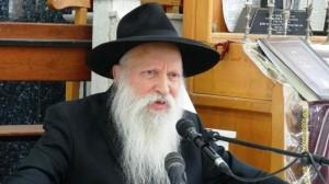 הרב יצחק גינזבורג (צילום גל עיני)
