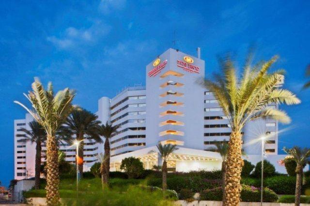 מלון קראון פלזה ים המלח. מרכז ההזמנות של הרשת מציג גידול של 30%. (צילום: יחסי ציבור)